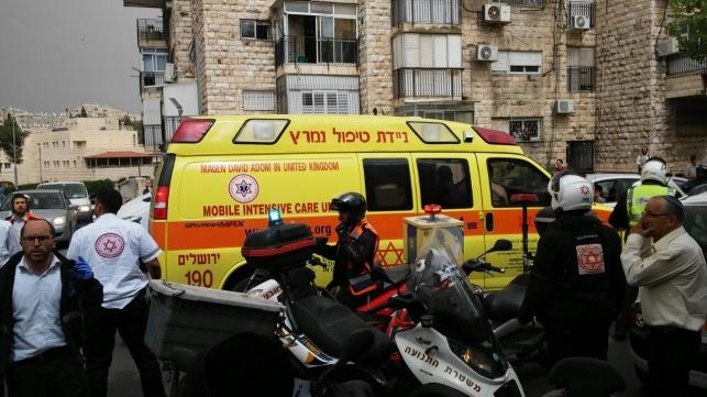 תאונה בירושלים. ארכיון