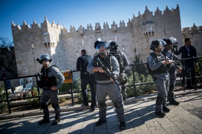 צעיר חרדי הותקף בידי ערבי ליד שער שכם