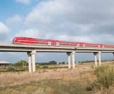 רכבת ישראל מרחיבה תדירות בצפון ובדרום