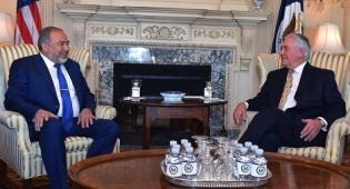 ליברמן וטילרסון. ארכיון - בוטל המפגש עם ליברמן בעת ביקור טראמפ