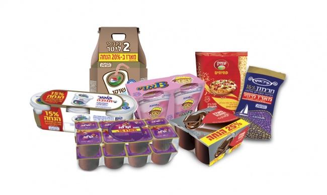 תשעת הימים: מגוון מוצרים במבצעים בתנובה