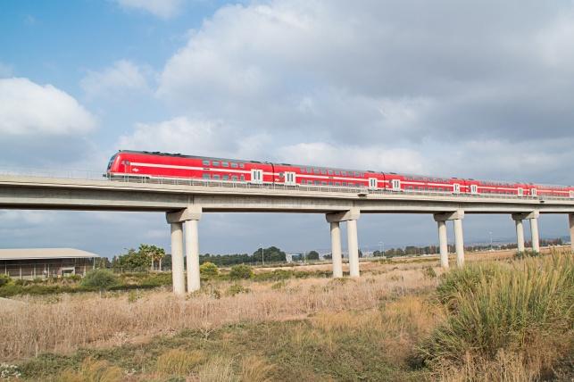 """שימו לב: השינויים בסופ""""ש ברכבת ישראל"""