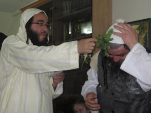 הרב ישראל פינטו חוגג מימונה, בשנה שעברה
