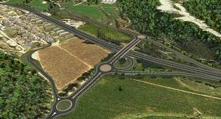 מחלף שמשון בכביש 38 החדש - הלילה ומחר: כביש מספר 38 ייסגר לתנועה