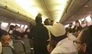 קייב: בחור חרדי הורד מטיסה - בגלל מסכה