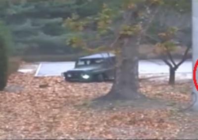 ערק מצפון קוריאה, נורה והצליח לברוח. צפו