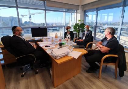 בפעילות ראוכברגר: אושרה הרחבת מיון'שערי צדק'