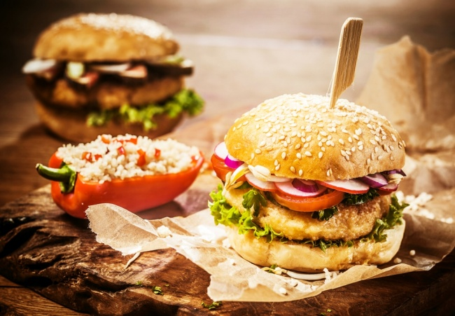 המבורגר פרווה מושלם מגרגרי חומוס