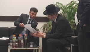 שגריר 'האמירויות' ביקר את הרב הראשי