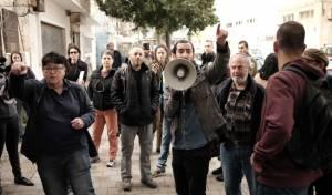 הפגנה נגד המסתננים בדרום תל אביב