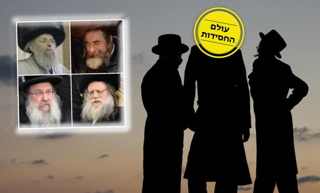 עולם החסידות בארץ ישראל, פרק שלישי: החצרות הקטנות
