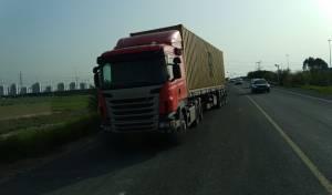 המשאית כביש 6, אתמול