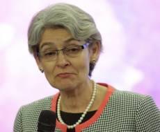 """מזכ""""לית אונסק""""ו אירינה בוקובה. הביעה צער - טראמפ: נפרוש מאונסק""""ו - נתניהו: גם אנחנו"""