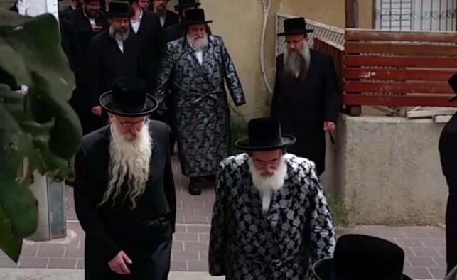 הרבי מויז'ניץ הזמין את אחיו הרבי מויז'ניץ