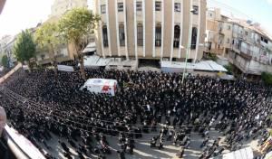 עצרת המחאה בעדשת יהודה פרקוביץ • צפו