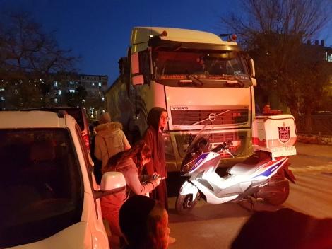 זירת התאונה, הערב