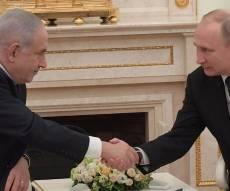 מול הנשיא פוטין: נתניהו הגיב לחדירה בצפון