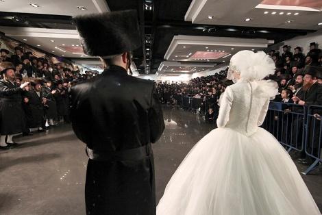 על כוונת מס הכנסה: חתונות חרדיות