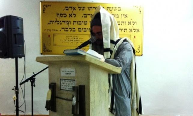 הרב אמנון יצחק סופד לאמו