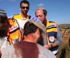 ההורה שנפצע מהאבנים - הילדים שהותקפו בטיול הוכרו כנפגעי טרור