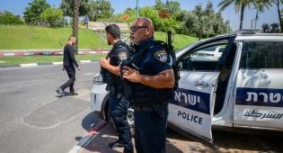 שוטרים בלוד אתמול