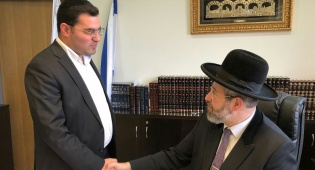הדובר החדש עם הרב הראשי - הכירו: הדובר החדש של הרב הראשי לישראל