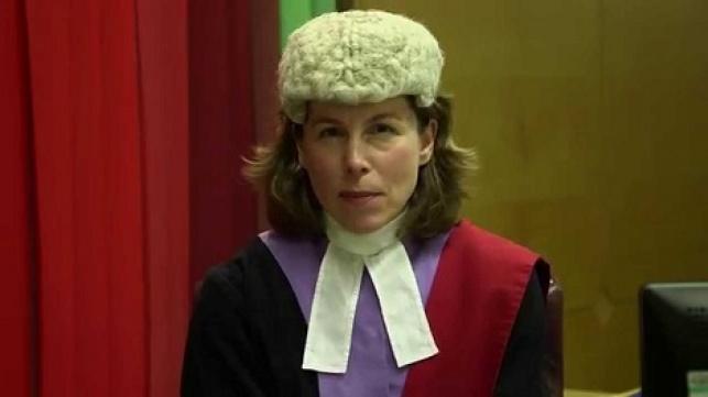 השופטת רוזה דין. תגזור את דינו של הסרבן