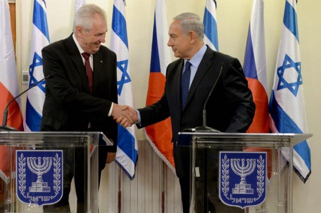 הנשיא זמאן בביקורו בישראל ב-2013