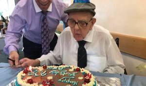 בן ריימנוד, ביום הולדתו ה-108