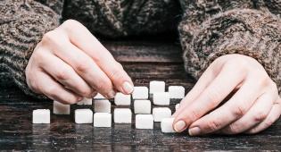 סוכר. להתרחק לגמרי או יש בו טוב מסוים? אילוסטרציה