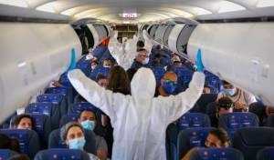 אילוסטרציה. מטוס חברת ישראייר בקורונה
