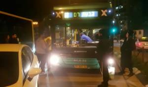 צפו: שוב תקיפה אלימה של נהג אוטובוס