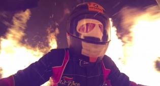 """פעלול מנהרת האש - טירוף: שיא עולמי ב""""מנהרת האש"""""""