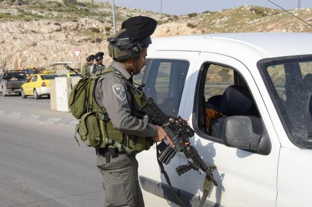 הרכב של הפלסטיני החשוד