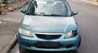הרכב שנתפס - נתפס ללא רישיון וברכב החשוד כגנוב ונעצר