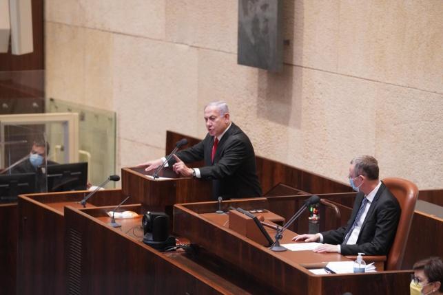 """נתניהו ביום רצח רבין: """"מסיתים לרצח נגדי"""""""