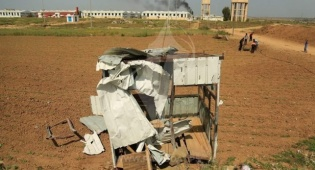 עמדת חמאס שהופצצה בחודש שעבר
