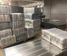 עולה חדש הבריח 19 מזוודות מלאות סיגריות