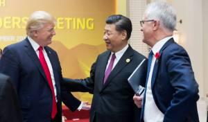טראמפ עם שליט סין