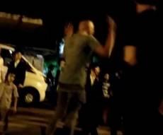 האיום נגד המפגינים