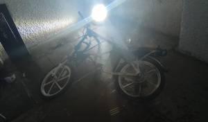 סוללת אופניים גרמה לשריפה בבניין מגורים