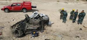 זירת התאונה הקשה