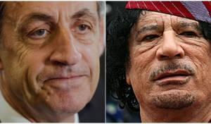 הנשיא לשעבר סרקוזי נעצר: מומן על ידי לוב