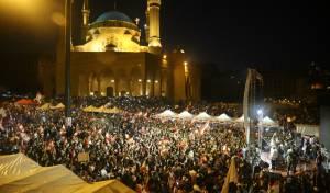הפגנה בלבנון