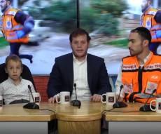 ילד שהתחשמל בראיון: ניצלתי בזכות 'איחוד'