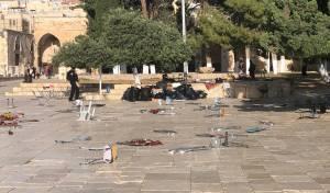 יום ירושלים: הערבים מתפרעים בהר הבית