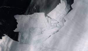 ההתחממות הגלובלית: קרחון ענק התנתק
