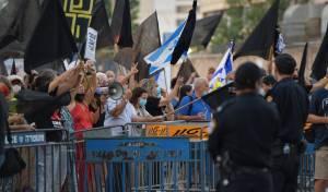 עימותים בתל אביב: מפגינים חסמו את איילון