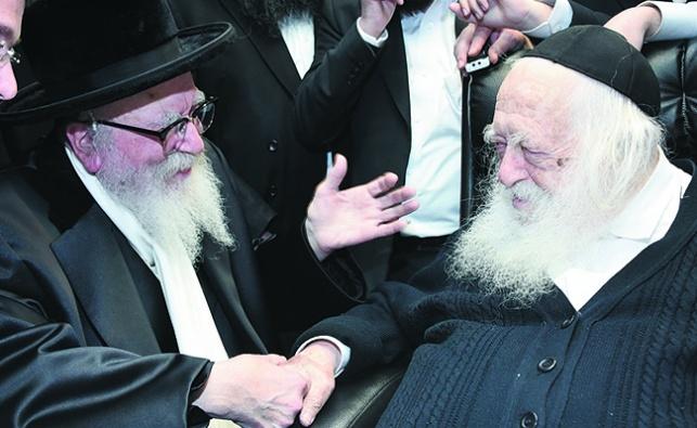 הרבי סיפר לשר התורה: 'למה חרגתי ממנהגי?'