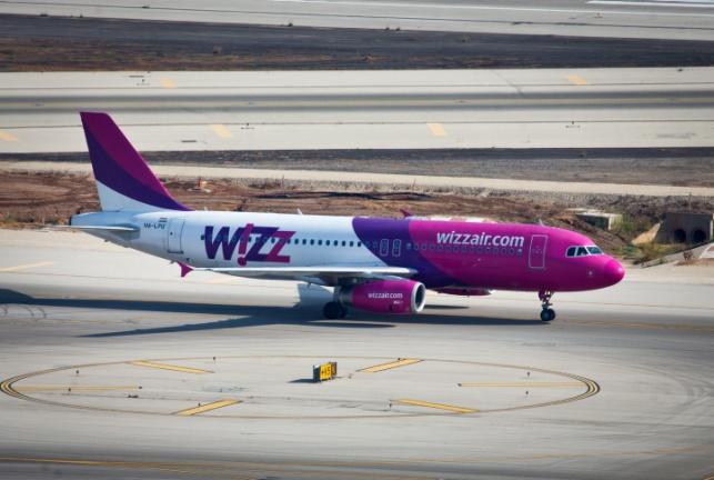מטוס של חברת וויז אייר